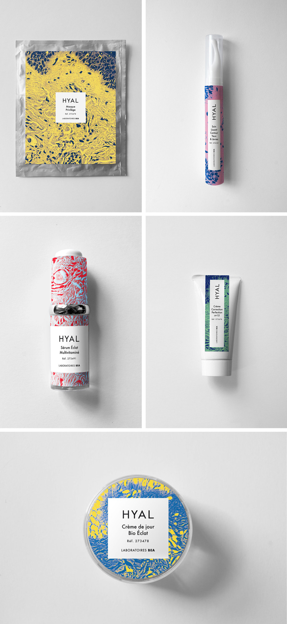 Hyal packaging design