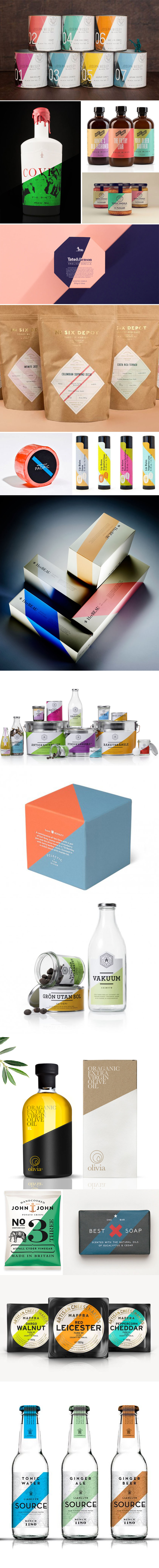 Theme: diagonal packaging
