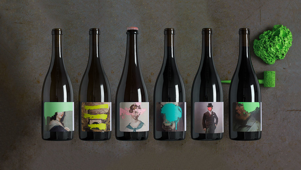 Cruse wine packaging