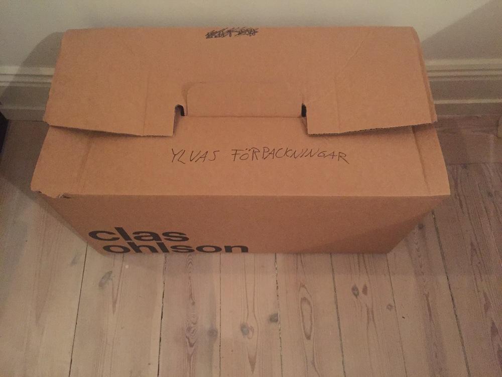 flyttkartong förpackning