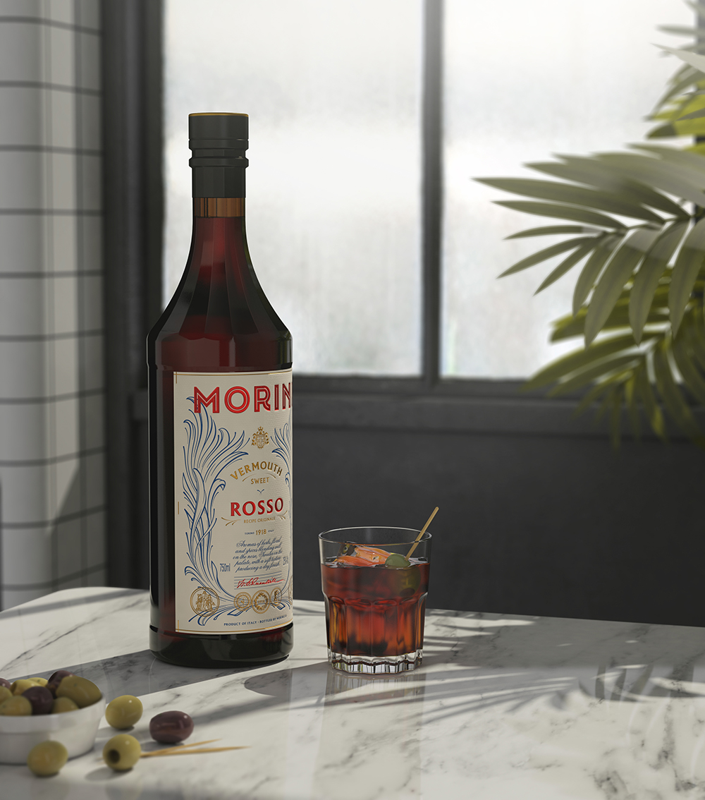 Packaging design Morini Vermouth by Pep Bernat Vizcaya at FÖRPACKAD