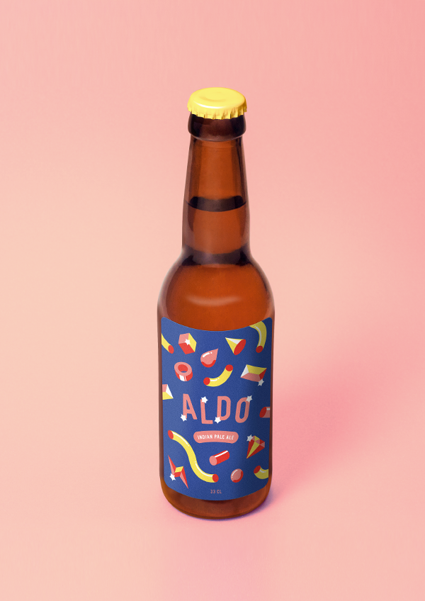 Aldo beer at Förpackad