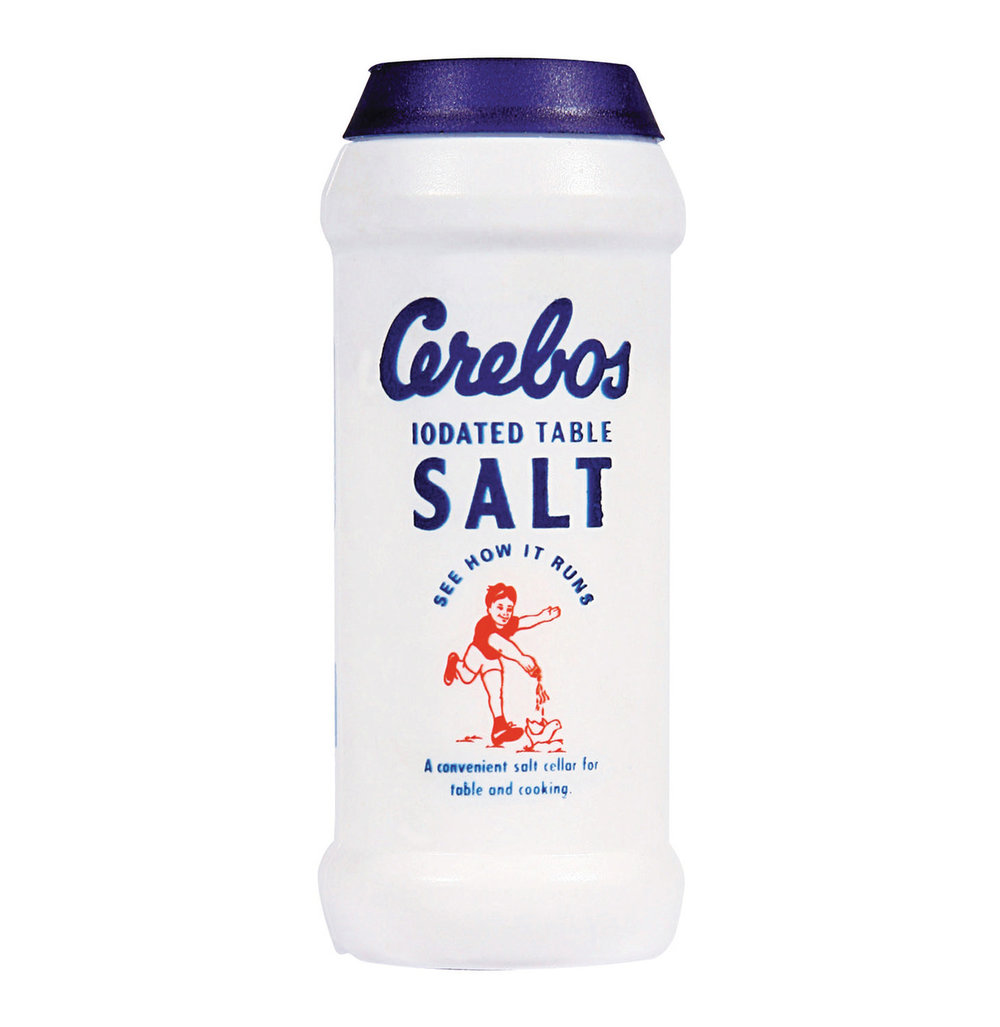 cerebos salt at förpackad