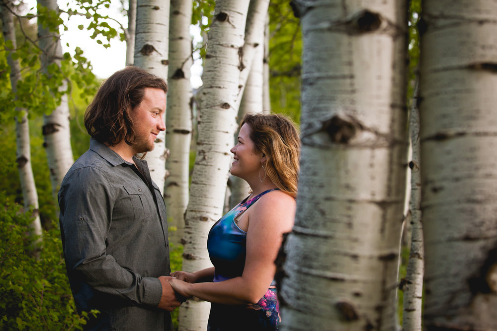 Durango Colorado Wedding Photographers, Engagement photos by Alexi Hubbell Photography, Paddle Boarding Engagement photos