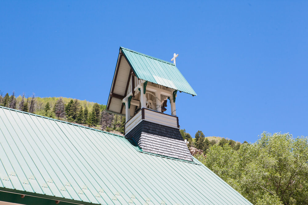 St. Patrick's Catholic Church, Telluride Colorado and Durango Wedding Photographers Alexi Hubbell Photography