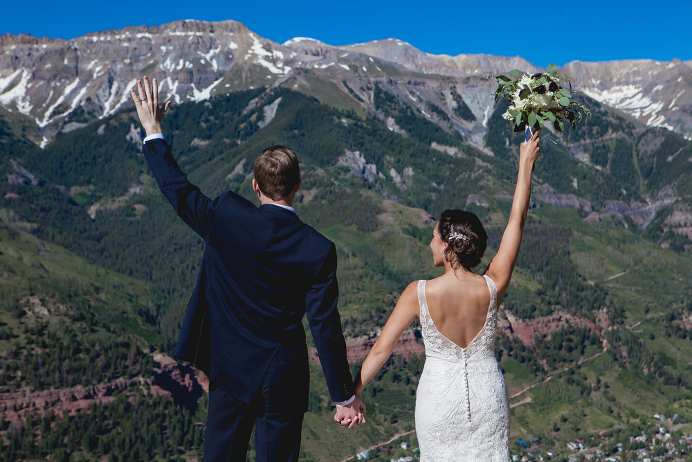 St. Patrick's Catholic Church, Telluride Colorado and Durango Wedding Photographers Alexi Hubbell Photography San Sophia Overlook