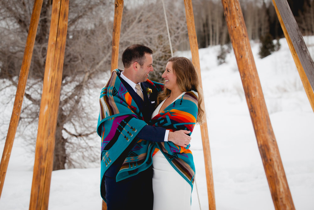 Dunton Hot Springs Elopement