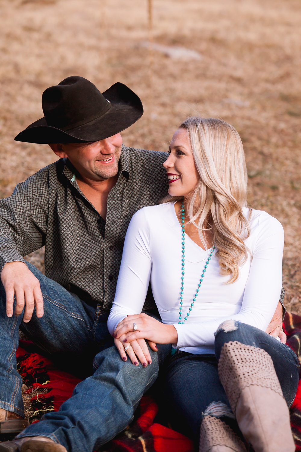 Durango Colorado Rustic Engagement Photos Winter by Alexi Hubbell Photography