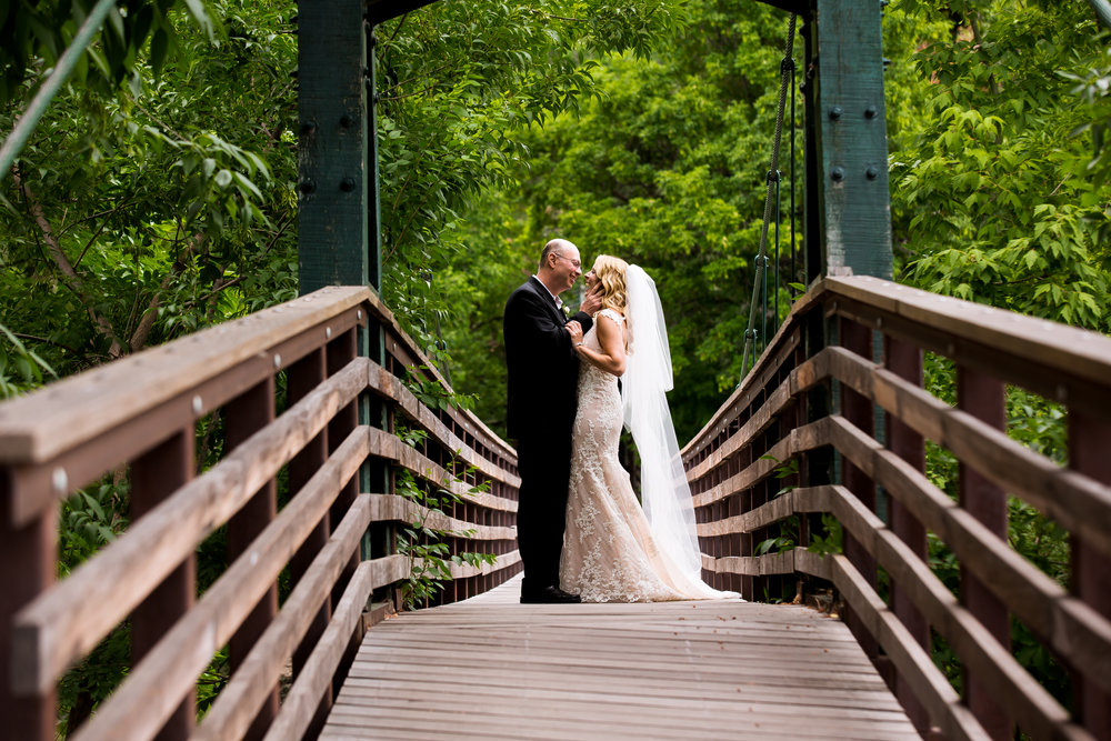 first look wedding photos durango colorado