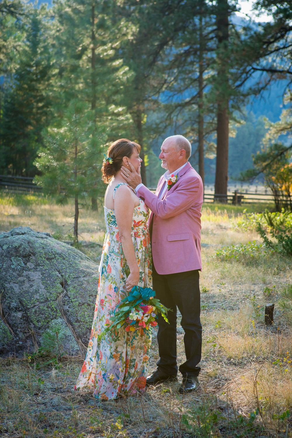 Pagosa Springs Wedding In National Forest Colorado Alexi Hubbell Photography