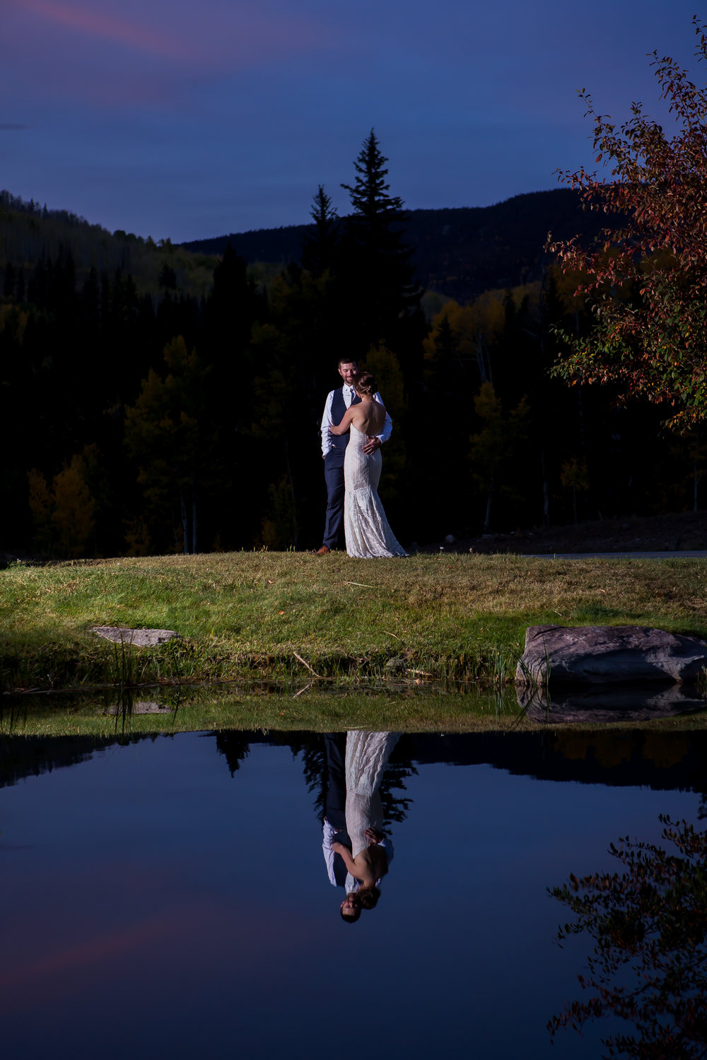 Cascade Village Durango Wedding