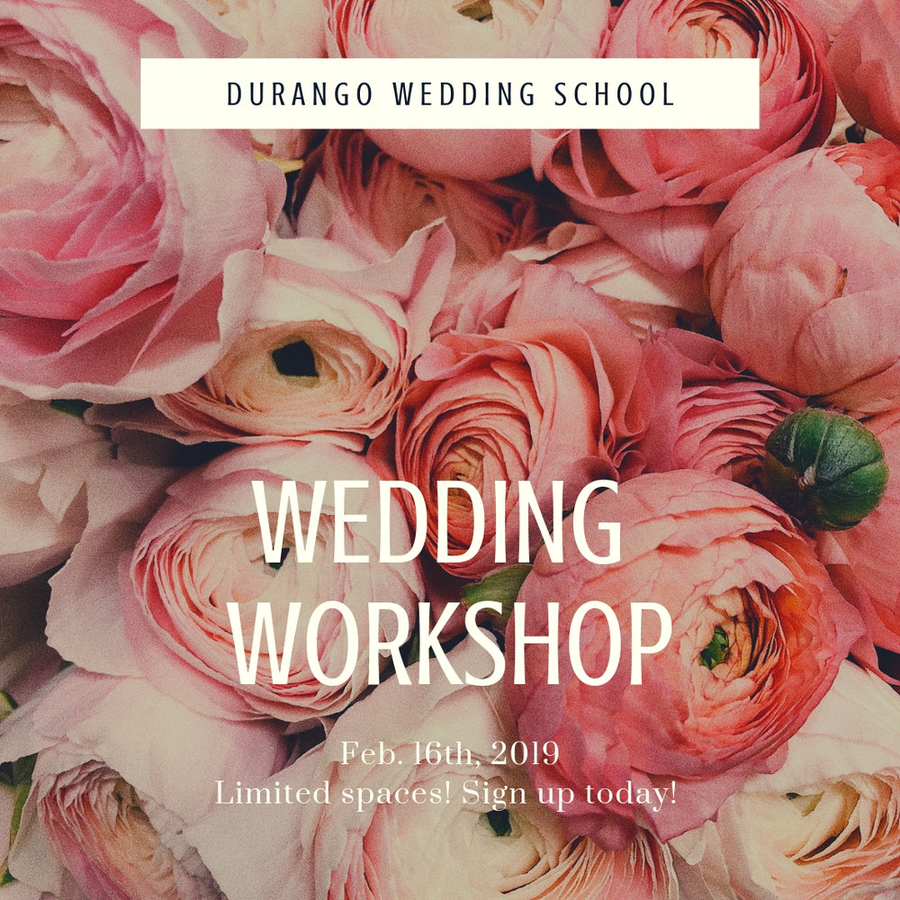 durango wedding school
