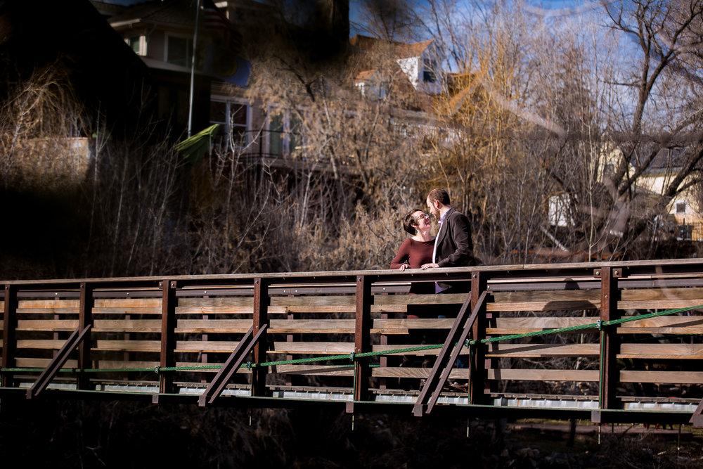 Animas River Trail Engagement Photos