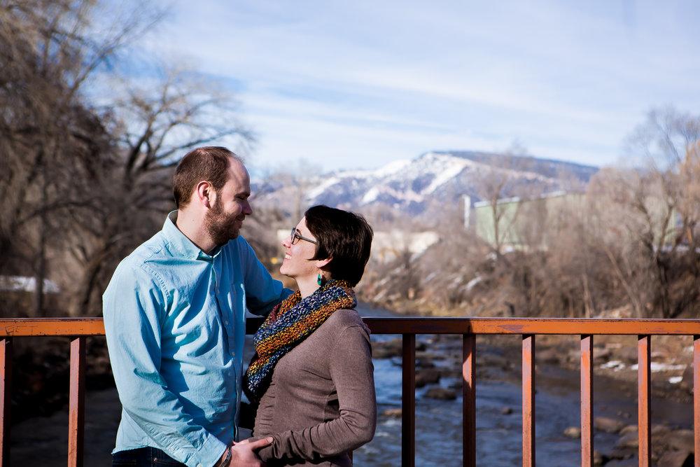 Durango Colorado Wedding, Engagement Photographer   Animas River Trail