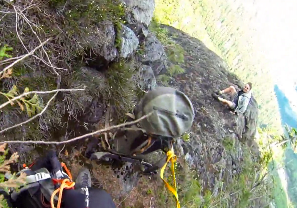 Dramatic Rescue of a lost hiker using Boost Systems HEC kit
