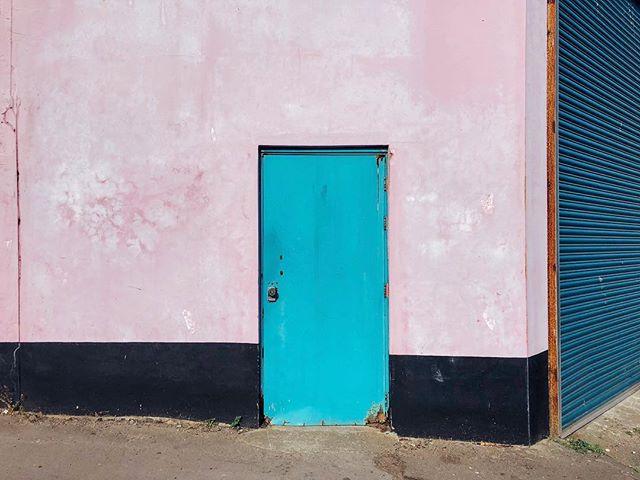 A door at Barry Island. #colour #color #door #texture