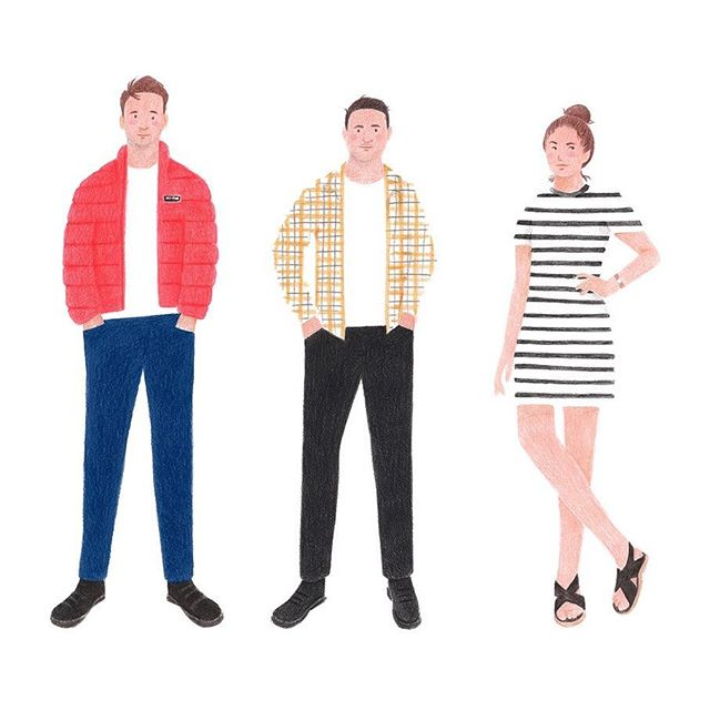 The @john8jane team by @jackolivercoles #designstudio