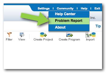 Problem Report