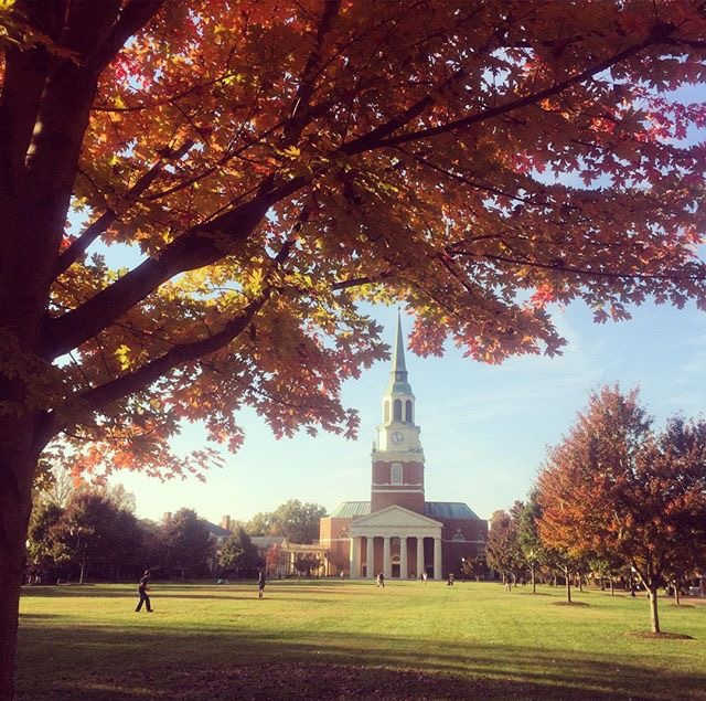 Beautiful Wake Forest! Photo cred:  Amanda Kerr