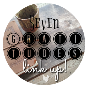 Seven Gratitudes Link Up Button