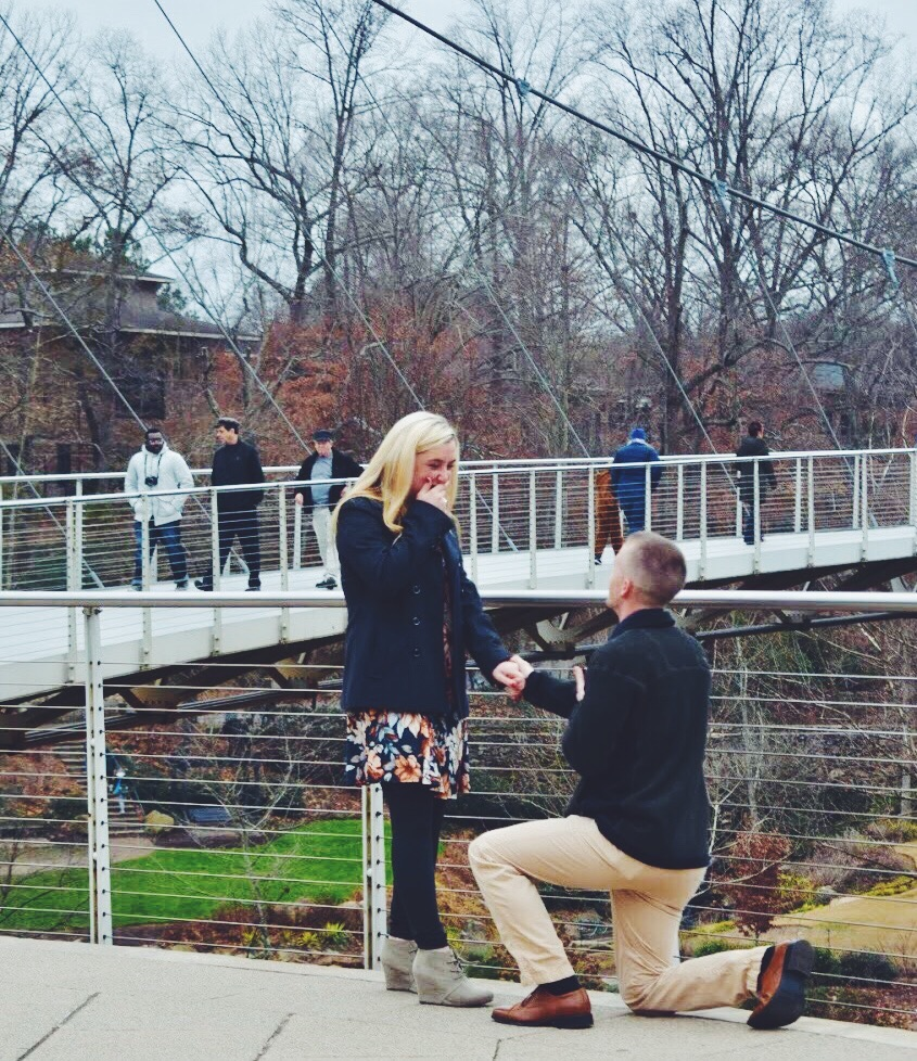 Adam is engaged!