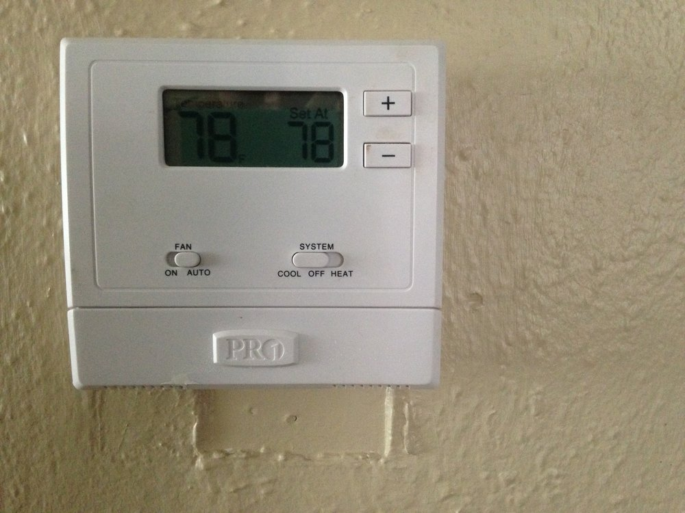 When Temps Rise, Our Thermostat Does Too: 78 degrees is the official recommendation for AC in summer.
