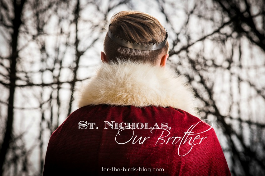 St. Nicholas, Our Brother - For the Birds