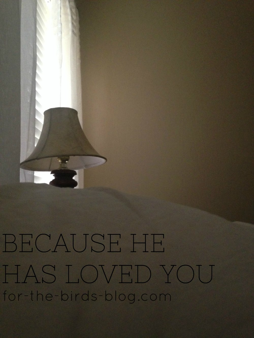 Because He Has Loved You - For the Birds - by Leanna Coyle-Carr