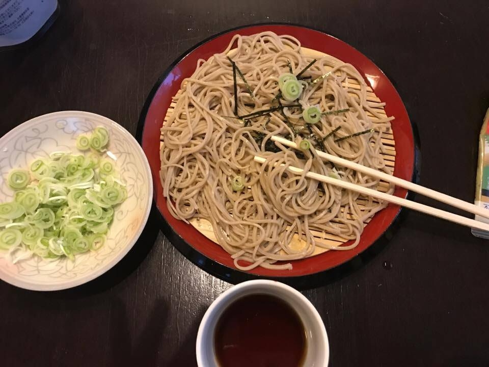 He made the soba so fast too! Probably took him 40 minutes.