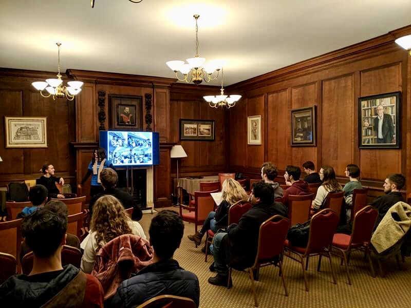 Oxford University info session, our last stop on the UK tour.