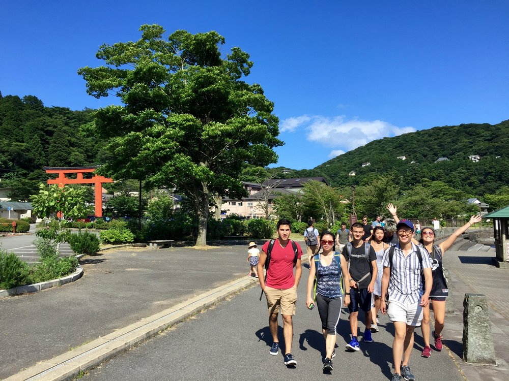 Hakone Retreat 2018 - Okay, scrap the Orientation and Training week rant. I think the weekend retreat is where true friendships also begin. I guess what I'm trying to say is: always try to make friends with others!