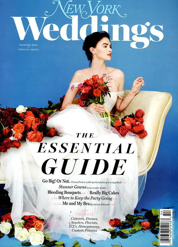 New York Weddings Magazine Winter 2015 Editorial List