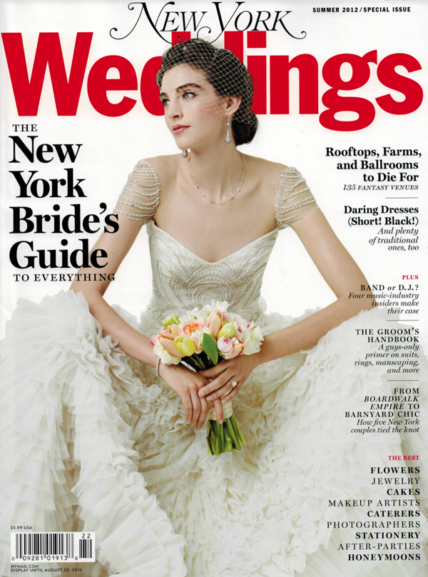 New York Weddings Magazine Summer 2012 Editorial List and Feature