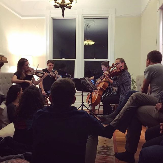 Had such an awesome crew at this house concert last night, we loved meeting new people and reconnected with old friends. Thanks to Fanny and all who came out! #groupmuse thank you @annecade for this photo!!