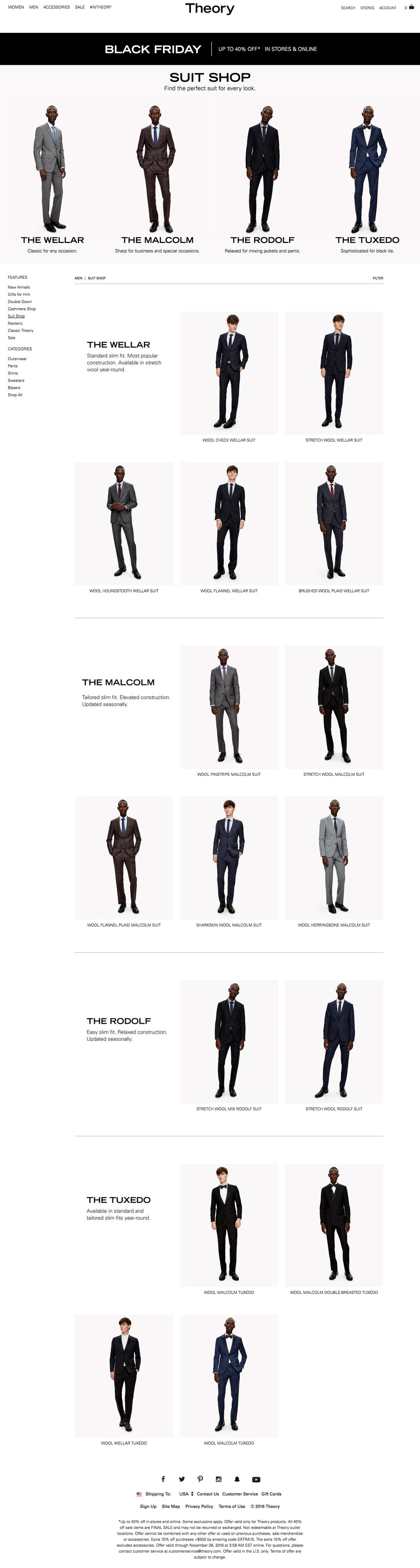 Men's Suit Shop