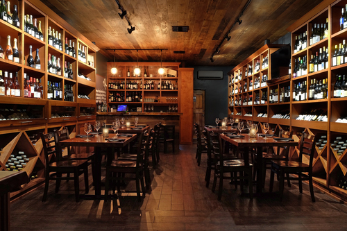 Private Events — the barrel room