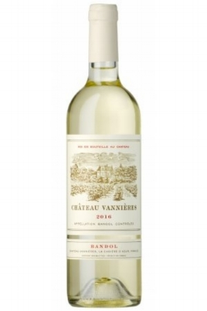 Château Vannieres Blanc  : Clairette (60%) + Bourboulenc (30%). Aromas of citrus, pear and white flowers; medium+ bodied with a long honeyed finish. Vannieres is a 16th-century château and cellar with 82 acres of vines.