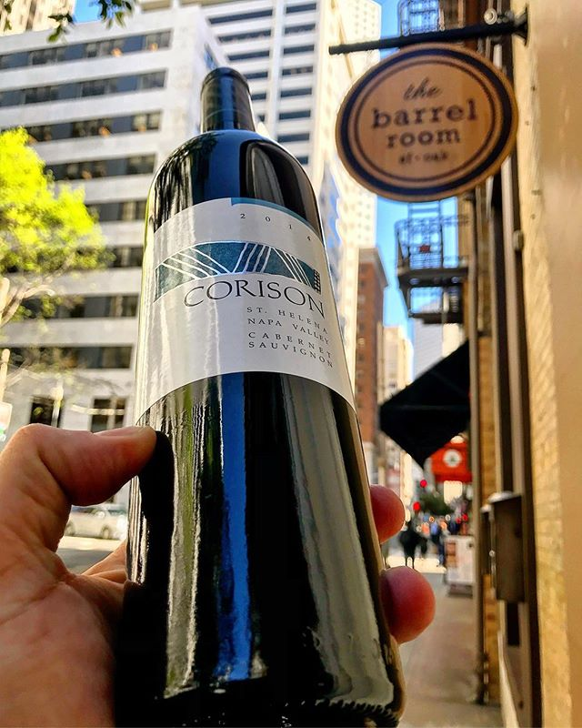 Just got more @corisonwinery #cabernet! One of our favorites... come get some! • • #wine #winetime #napavalley #napawine #winetasting #winelover #cabernetsauvignon #whatweredrinkingtonight #getitwhileyoucan #sommlife #damngoodwine #wecoulddrinkthisallday #sfwinebar #sffoodie