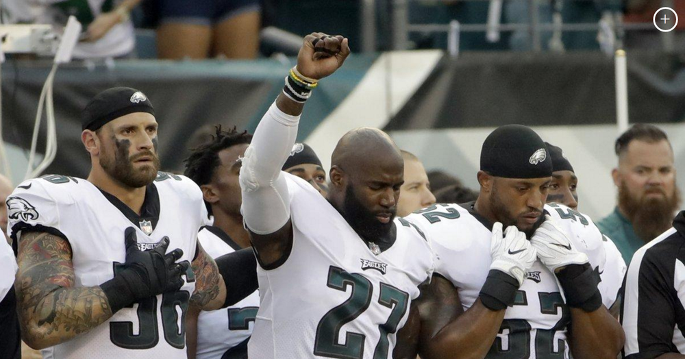 Why Chris Long Broke the NFL Protest Color Barrier - Over the last year, no other white NFL player has spoken as thoughtfully, respectfully and empathetically about racism as Chris Long, and no other white NFL athlete has publicly expressed such an acute awareness of his own white privilege.
