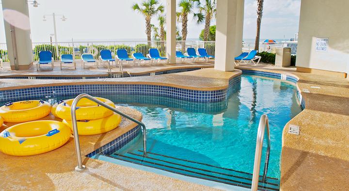 Best Western Plus Carolinian Beach Resort, Myrtle Beach (stock photo lazy river)