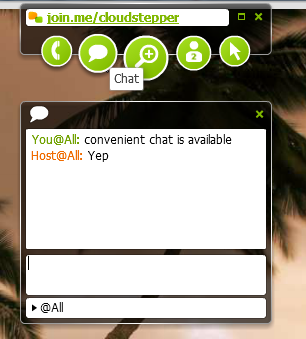 Join.Me chat