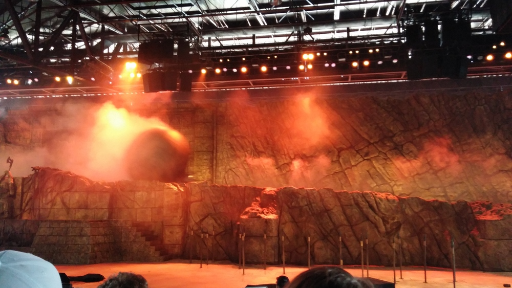 Disney World Hollywood Studios Indiana Jones Epic Stunt Spectacular