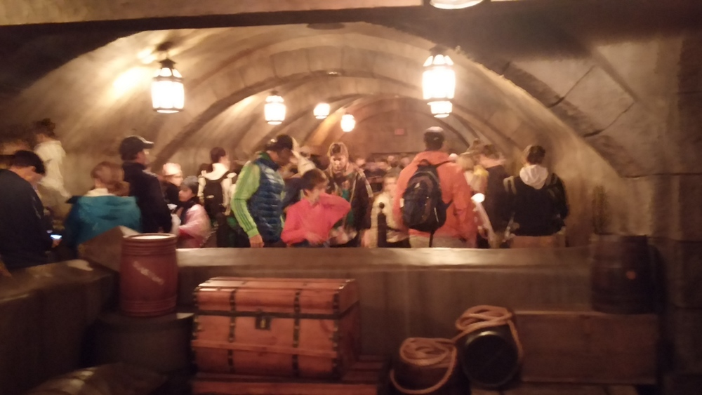 Magic Kingdom Pirates of the Caribbean -- the regular line