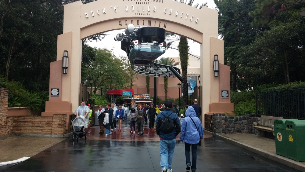 Disney World Hollywood Studios, Rock 'n' Roller Coaster Starring Aerosmith