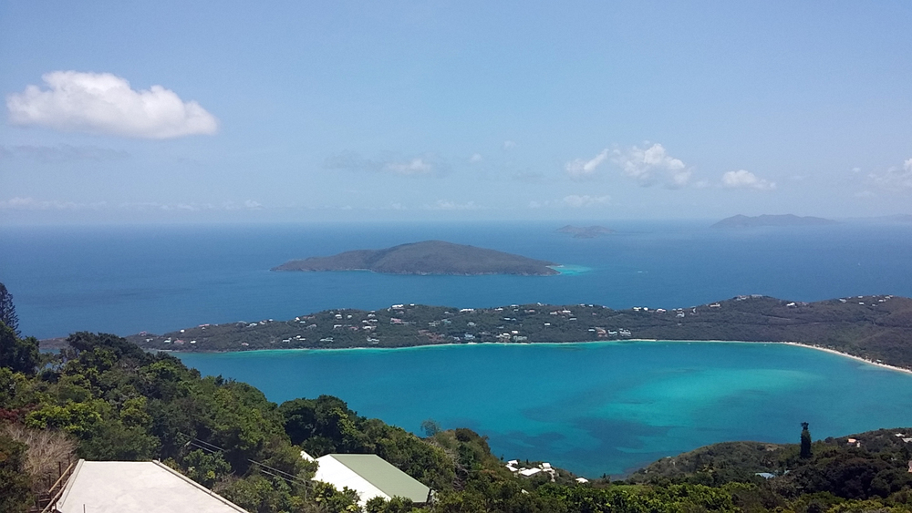 view from Mountain Top, St. Thomas