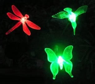 Esky Solar Powered Outdoor Hummingbird, Butterfly & Dragonfly Solar Garden Stake Light 1.jpg