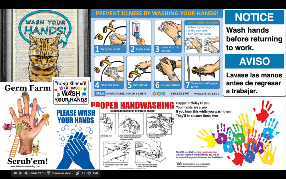 A product audit of other hand washing solutions most commonly used in the public bathroom setting
