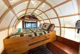 As Last Centuryu0027s Version Of The RV, Sheep Wagons Are A Step Back In Time.  The Compact, Efficient Living Space Is Well Designed And Each Wagon Has A  Double ...