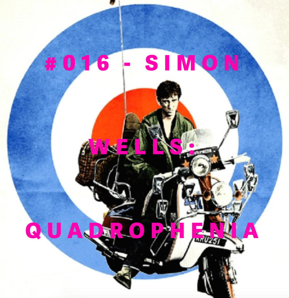 SIMON WELLS  #016-QUADROPHENIA