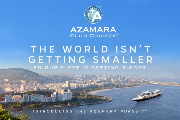 The world isn't getting smaller so Azamara's fleet is getting bigger! Discover everything you need to know about Azamara Pursuit.